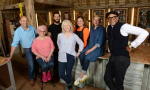 The Repair Shop team, from left: Brenton West, Amanda Middleditch, Dominic Chinea, Julie Tatchell, Lucia Scalisi, Kirsten Ramsay and Jay Blades.