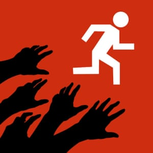 Instead of data and targets, Zombies, Run! motivates runners with the threat of being attacked by the living dead.