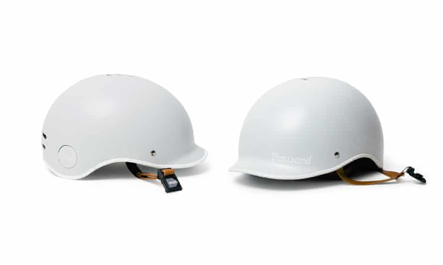 Thousand arctic grey helmet
