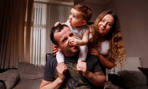 Comedian Gary Meikle with his daughter, Ainsley, and his granddaughter, Gracie