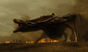 Dany and Drogon: GoT's dragons are amazing.