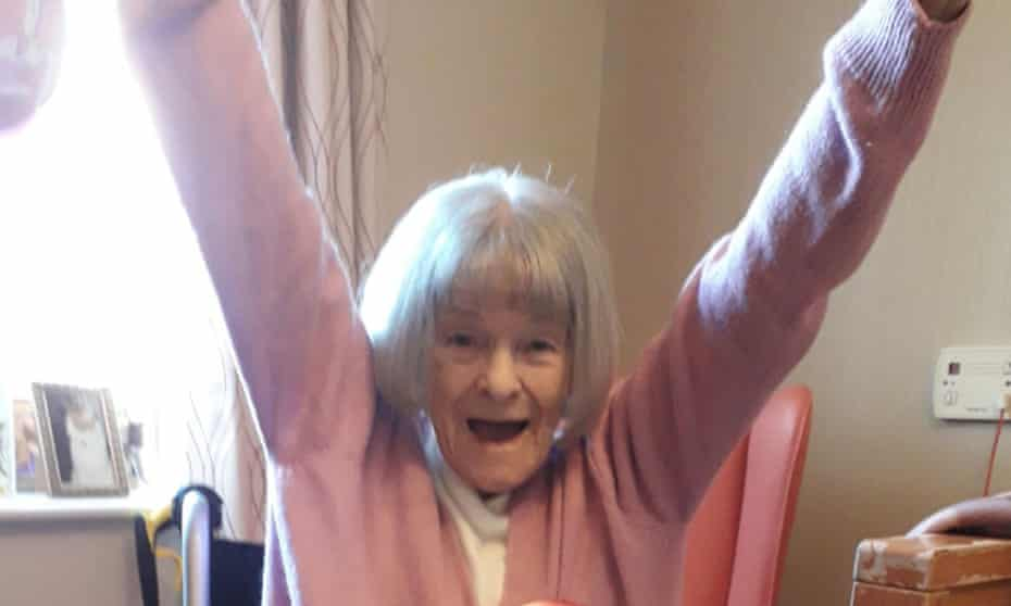 Peggy Dixon celebrates her 90th birthday. She died aged 91