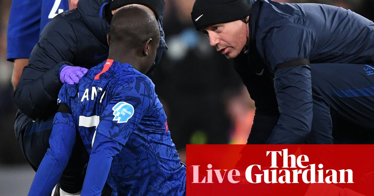 Henderson and Kanté ruled out: weekend football countdown –live!