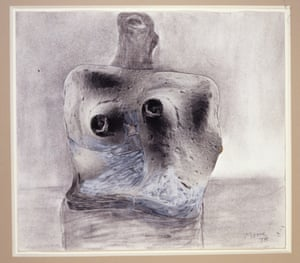 Flint Torso (Henry Moore, 1978).