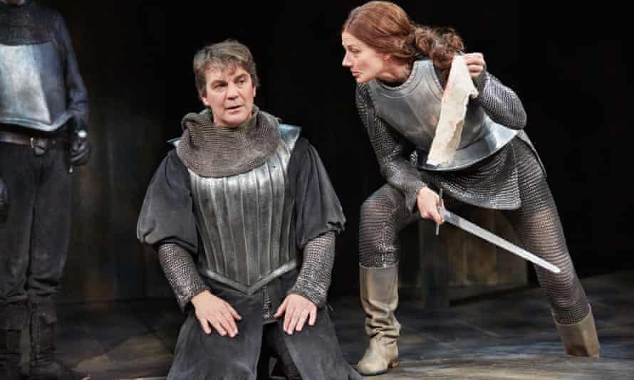 Alexander Hanson as Duke of Buckingham with Joely Richardson as Queen Margaret.
