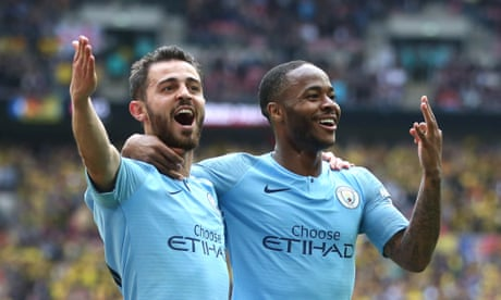 Manchester City win FA Cup to seal treble with 6-0 demolition of Watford