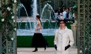 Chanel fashion show.