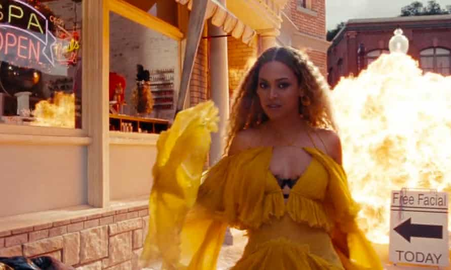 Beyoncé in Lemonade ... clearly the most physically perfect being ever born.