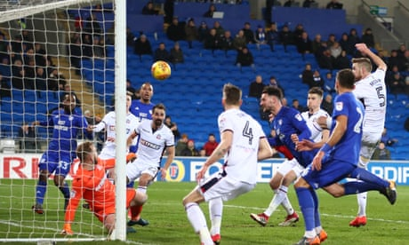 Football League round-up: Cardiff push top two with win against Bolton