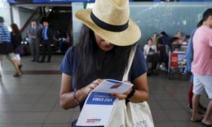 Chile airport Zika virus