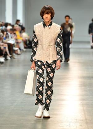 Stefan Cooke for Fashion East MAN at London Fashion Week Men's 2018.