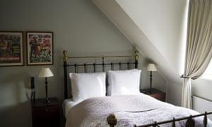 Bedroom at Villa Provence, Aarhus, Denmark