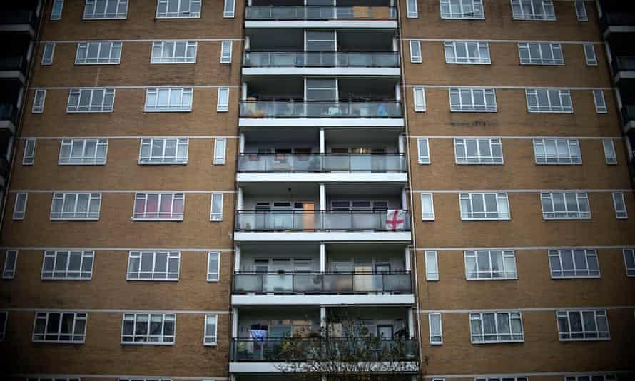 A housing estate in London