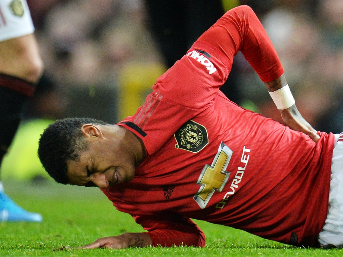 Marcus Rashford Out For At Least Two Months With Double Back Stress Fracture Marcus Rashford The Guardian