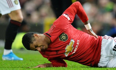 Marcus Rashford out for at least two months with double back stress fracture