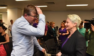 Tim Murray and Kerryn Phelps
