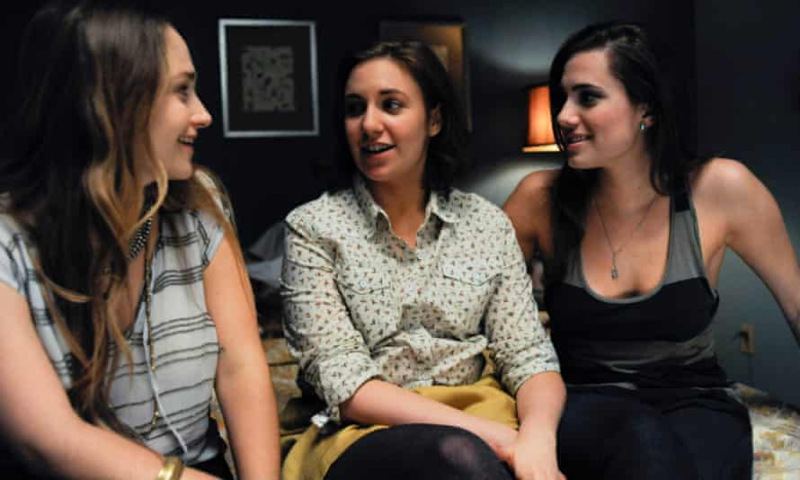 The support clique … Jemima Kirke, Lena Dunham and Allison Williams in the TV series Girls.