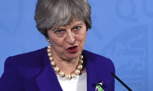 Theresa may another vacuous speech on the farcical road for Farcical part of speech