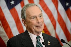 New York ex-mayor Michael Bloomberg.