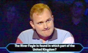 Charles Ingram on Who Wants to Be a Millionaire? in 2003