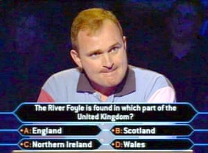 Charles Ingram answering the £4,000 question