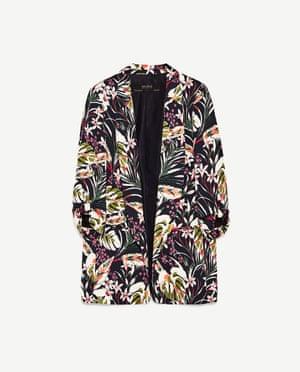 Zara blazer, £49