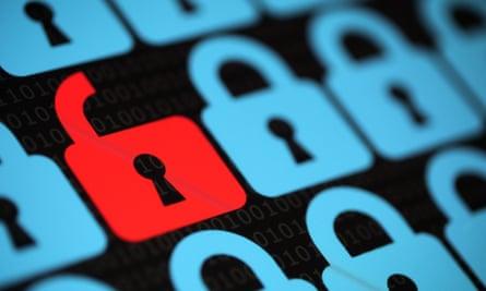 unlocked virtual padlock