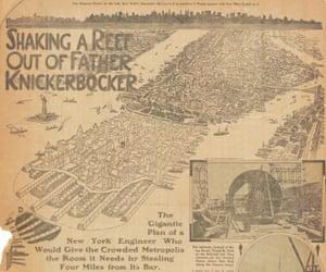 City of New Manhattan, T Kennard Thomson, 1911