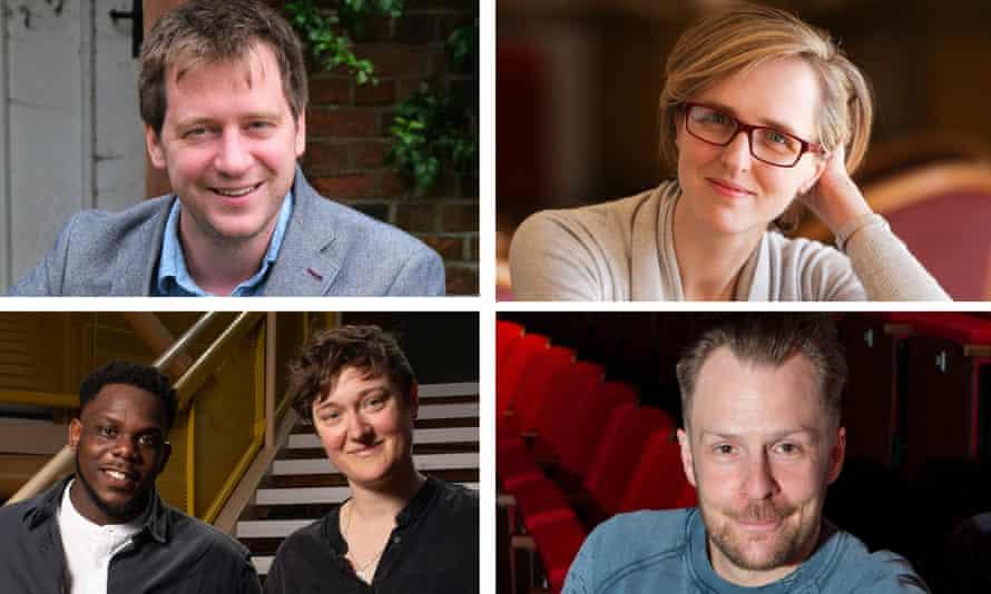 Determined … clockwise from top left: Paul Hart, Tamara Harvey, Nikolai Foster, Bryony Shanahan and Roy Alexander Weise.
