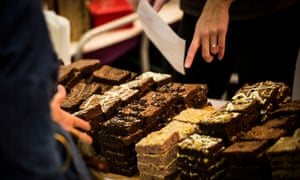 Chocolate brownies and sweet pastries are the unlikely centre of an ongoing economic crisis.