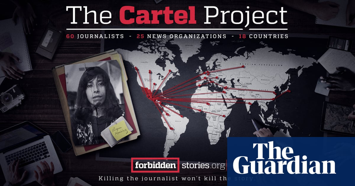 Killing the journalist won't kill the story: reporters launch Mexico cartels project – video