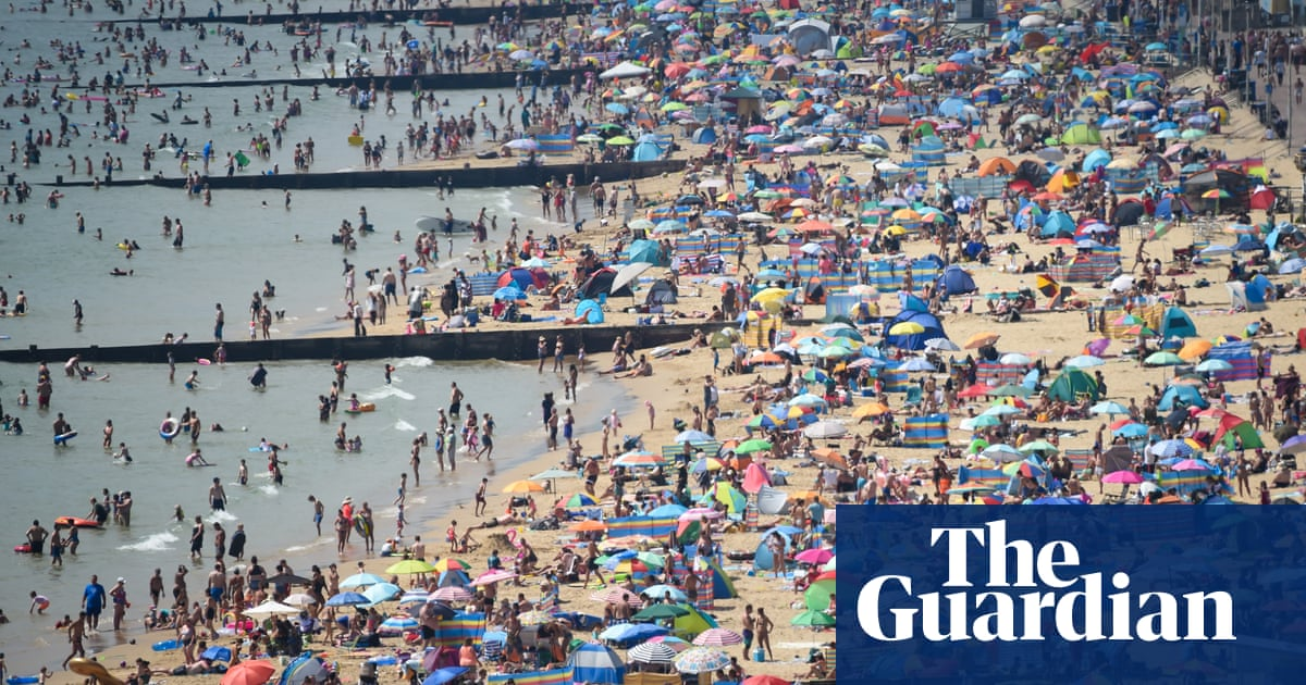 UK weather: heatwave to continue this weekend and into next week