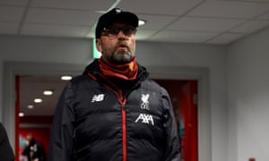 Jürgen Klopp only rested a couple of players.