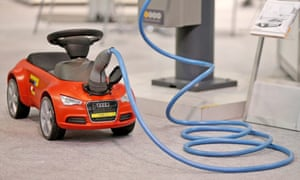 The industry study assumes a lack of public appetite for electric cars