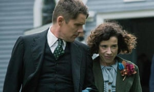 Ethan Hawke and Sally Hawkins in the film Maudie