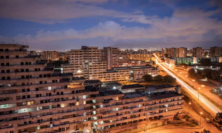 Le Vele, or 'sails' is a sprawling housing estate on the outskirts of Naples.