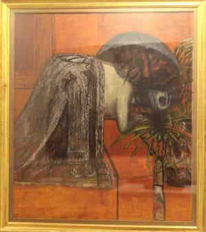Francis Bacon's Figure Study II, which could be worth up to three times its estimated value of £19.5m.