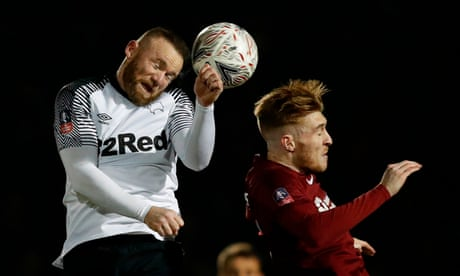 Wayne Rooney unable to spark Derby into life in drab draw with Northampton