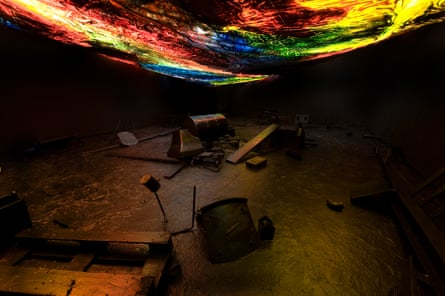 Lava-grotto by Hugo Canoilas at AV festival.