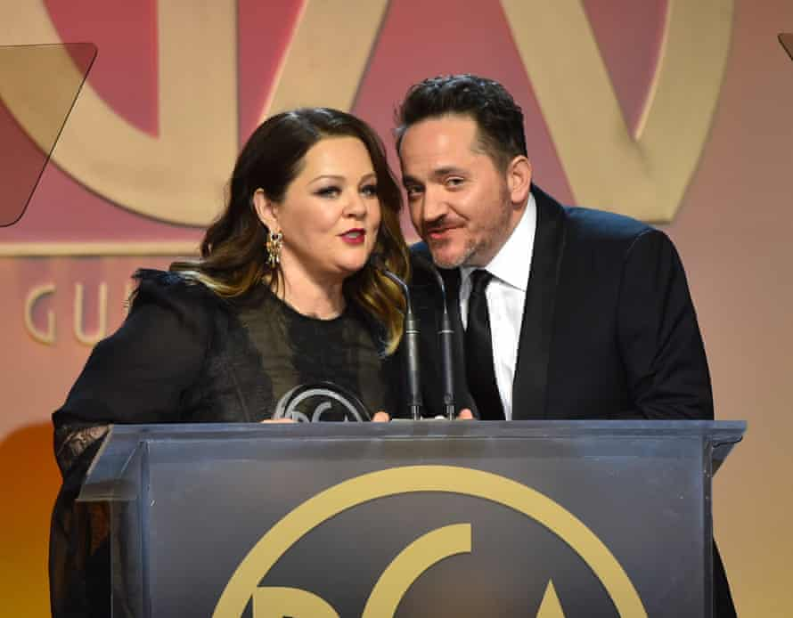 God's Favourite Idiot producers Melissa McCarthy and Ben Falcone