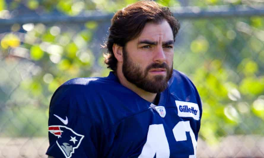 Nate Ebner in his days with the New England Patriots, in 2015.