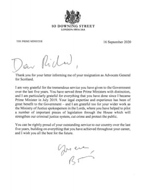 PM's letter to Keen