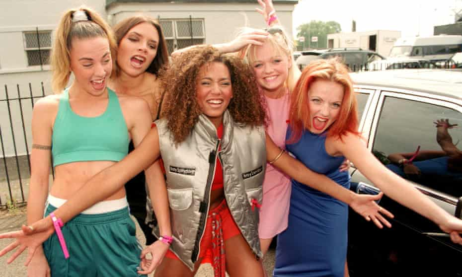 Sporty, Posh, Scary, Baby and Ginger: the Spice Girls in 1996
