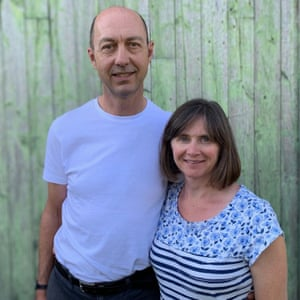 Jacqui and Adrian Brown