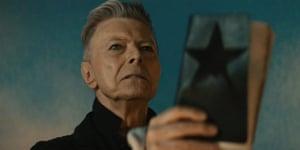 Bowie Blackstar video still