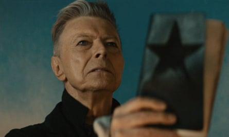 David Bowie's Blackstar video still