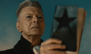 Bowie in the Blackstar video.