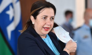 Queensland premier Annastacia Palaszczuk announced two new local Covid cases and a three-day lockdown in the state's south-east, Townsville, Palm Island and Magnetic Island