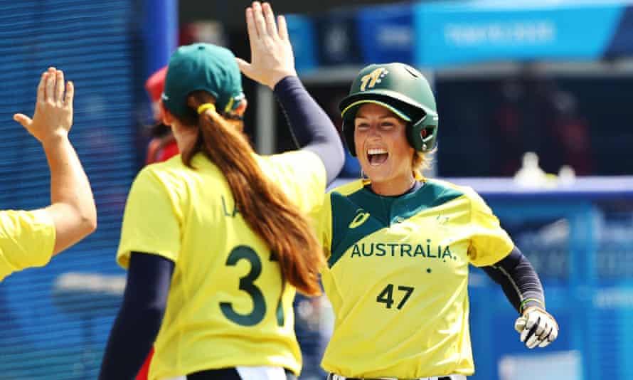 Australia's softball team