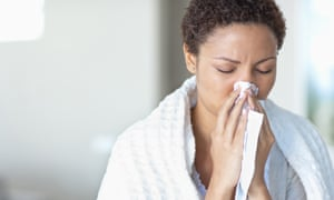 On average, each of us will get around 200 colds in a lifetime.